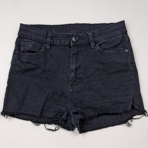 BDG high rise cut off shorts